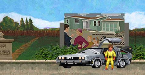 I'll Be Back to the Future With a Terminator - ce point and click est un vrai méli-mélo !