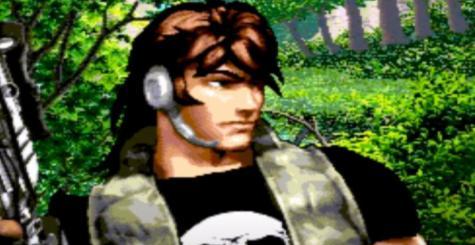 Metal Dragon sur MSX - quand Rambo rencontre Metal Gear