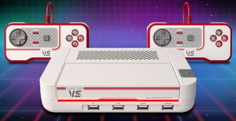 Evercade VS - une nouvelle console retrogaming qui lira vos cartouches Evercade