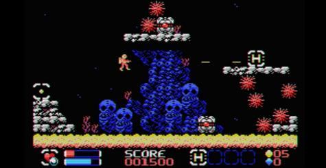Mutants from the Deep - le dernier jeu de Locomalito arrive sur MSX !