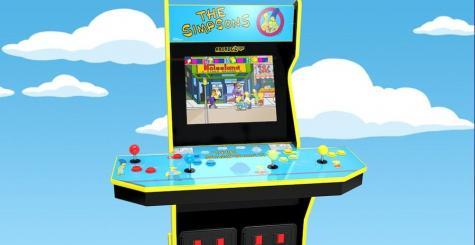 La borne d'arcade des Simpsons de Konami va être ressuscitée par Arcade1Up