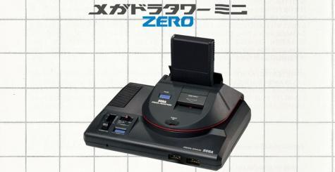 SEGA annonce la Megadora Tower Mini Zero, une protubérance inutile pour la Mega Drive Mini
