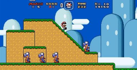 Super Mario Widescreen élargit l'horizon de Super Mario World !