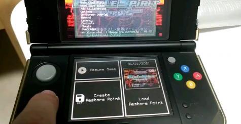 Avec sa version 1.9.9, RetroArch prend en charge l'écran tactile de la Nintendo 3DS !