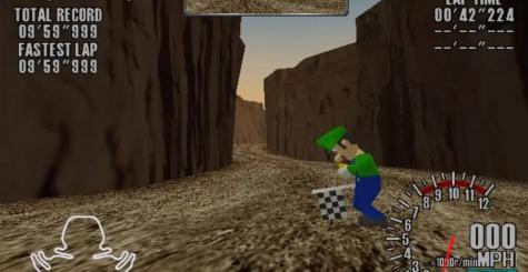 Maman mia ! Luigi découvert dans un prototype Sega Dreamcast