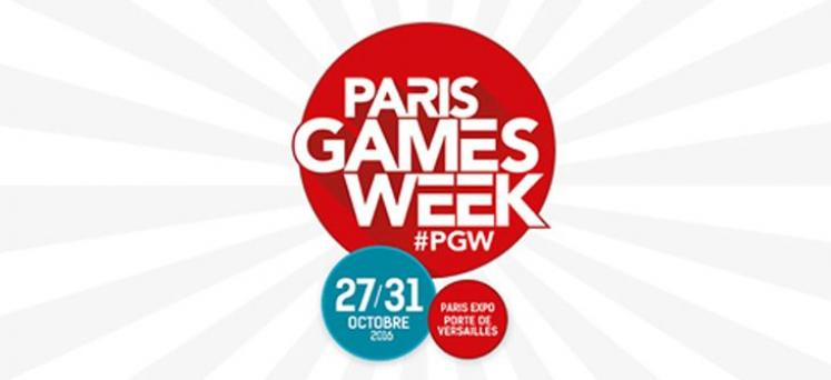 La Paris Games Week 2016 dévoile son affiche