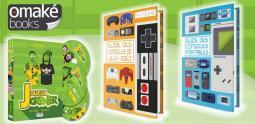 Deux Guides des Consoles et le Fan Book Joueur du Grenier pour Noël chez Omake Books