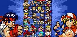 SNK vs Capcom Rivals est pixellatissimo !