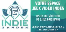 Indie Garden au Digital and Game Show de Strasbourg