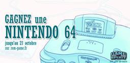 Concours Gagnez une Nintendo 64 avec Game Spirit et Rom Game !