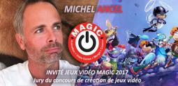 Michel Ancel invité du Festival MAGIC 2017