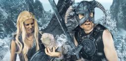 Joueur du Grenier - quand Papy Grenier batifolait dans Skyrim