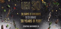 30 cadeaux pour les 30 ans d'Ubisoft
