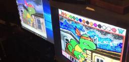 Cowabunga ! le générique de Teenage Mutant Ninja Turtles réalisé avec Mario Paint !