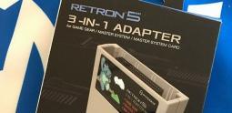 Hyperkin annonce un adaptateur SEGA Master System et Game Gear pour sa RetroN 5