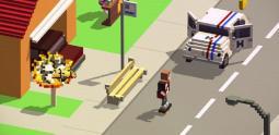 The Videokid - Paperboy échange son vélo pour un skateboard