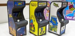 Des classiques de l'arcade, miniatures et jouables !
