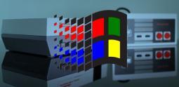 Un hack de la Nintendo NES Mini pour lancer MS-Dos et Windows 3.1 !