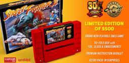 Capcom ressortira des cartouches Street Fighter II qui mettront le feu à votre SNES