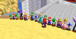 Super Mario 64 Online - des parties jusqu'à 24 joueurs !