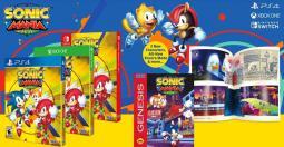 Sonic Mania Plus - version boîte annoncée pour Switch, PS4 et Xbox One