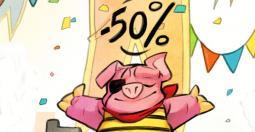 Wonder Boy : Dragon's Trap à moitié prix sur toutes les plateformes !
