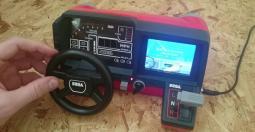 Jouez à OutRun au volant de votre Tomy Turnin' Turbo Dashboard !