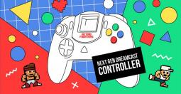 Retro Fighters - la manette Next Gen pour Dreamcast cartonne sur Kickstarter !