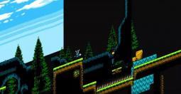 Shovel Knight est en réalité un jeu en 3D
