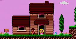 Alex Kidd 3 Curse in Miracle World - une belle preuve d'amour
