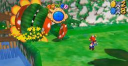 Super Mario 64 devient Super Mario Sunshine, et vice et versa...