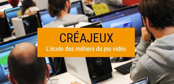 Creajeux - École supérieure des métiers du jeu vidéo